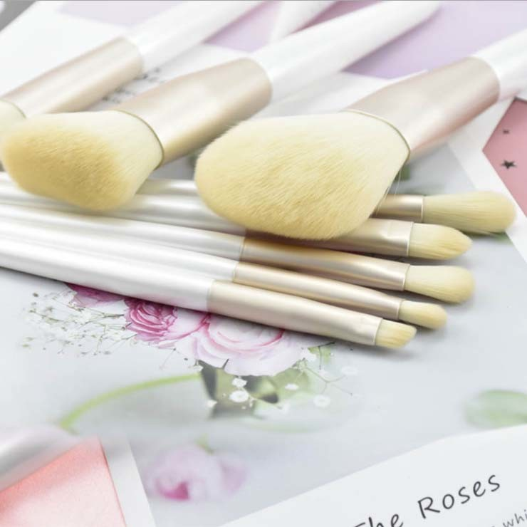 Hot Sale Cosmetic Brush Set with Synthetic Hair